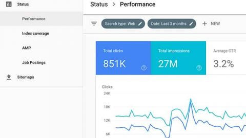 google search console closeup