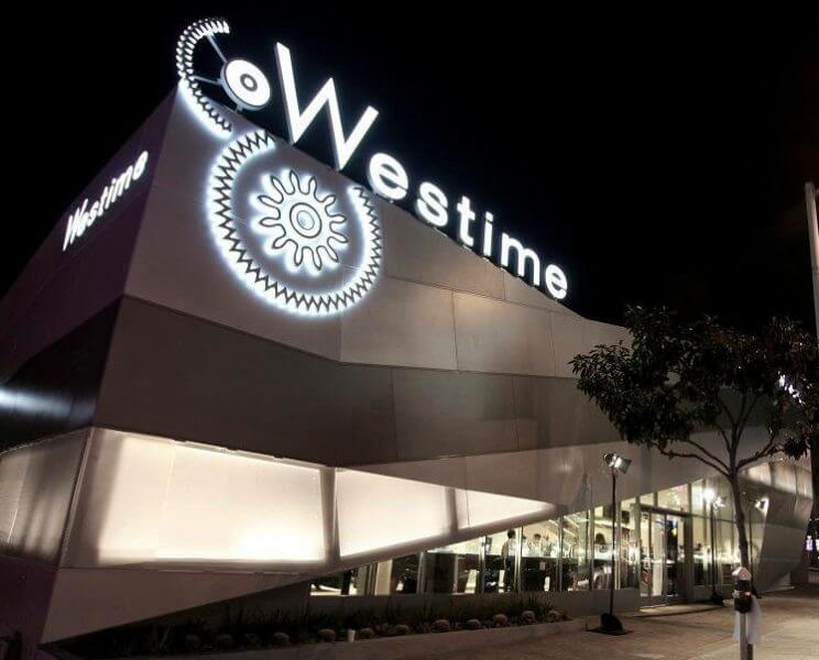 westime store at night