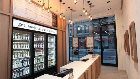 pressed juicery store
