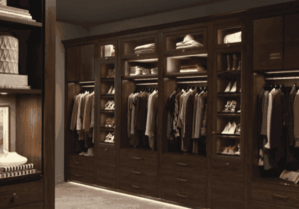california closets closeup